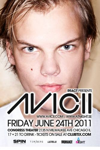 6.24 Avicii at The Congress Theater Chicago