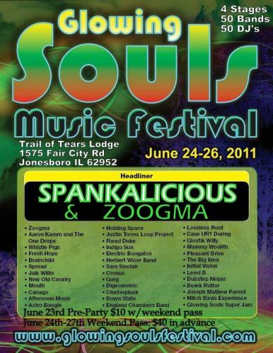 Spankalicious @ Glowing Souls Music Festival