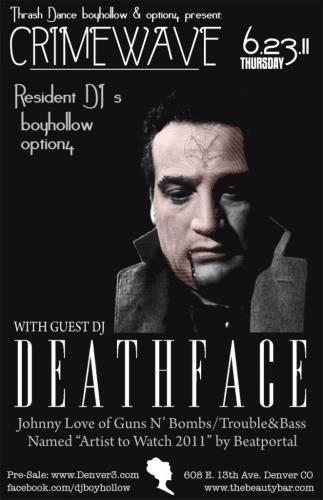 Crimewave: DEATHFACE @ Beauty Bar