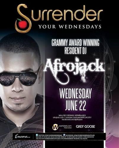 Afrojack @ Surrender