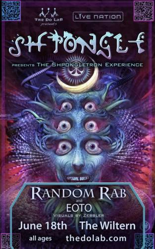 The Do LaB presents Shpongle w/ Random Rab & Eoto