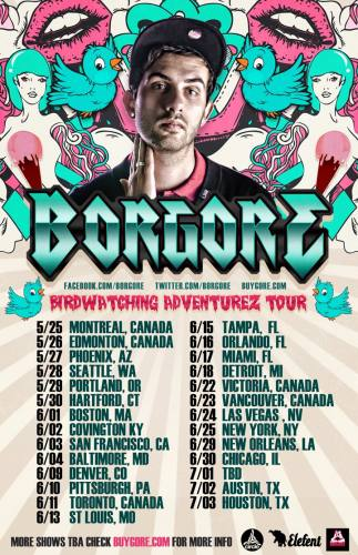 Borgore @ Royal Oak Music Theatre