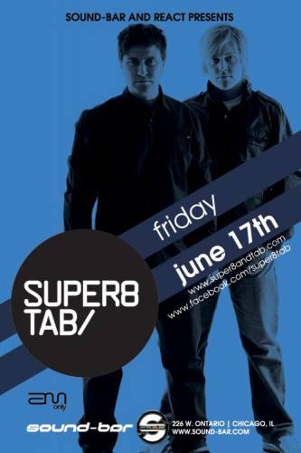 6.17 SUPER8 & TAB at Sound-Bar. NO COVER w/ RSVP