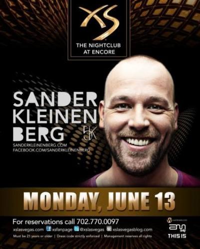Sander Kleinenberg @ XS