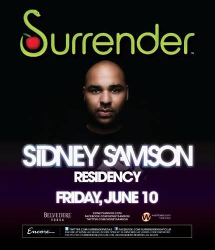 Sidney Samson @ Surrender
