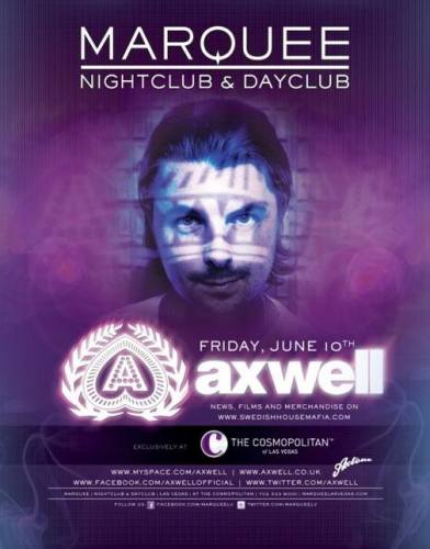 Axwell @ Marquee