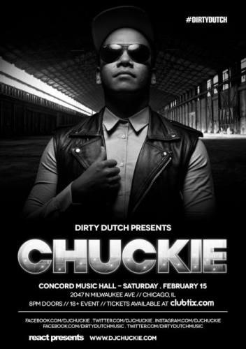 2.15 – CHUCKIE - CONCORD MUSIC HALL
