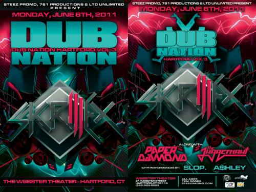 Dub Nation Hartford Vol. 3 feat. Skrillex @ Webster Theater