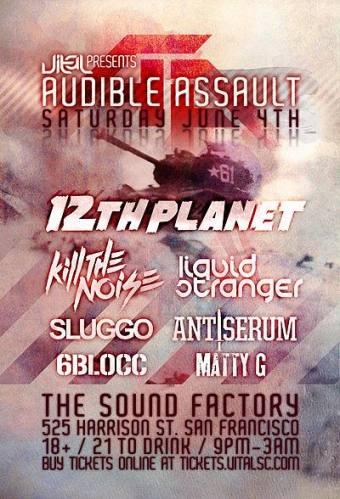 Audible Assault @ The Sound Factory