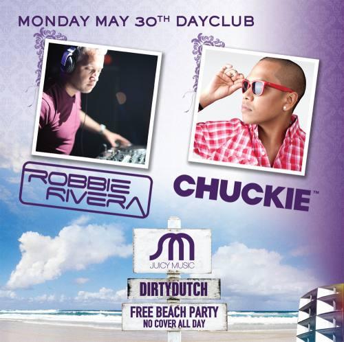 Robbie Rivera & Chuckie @ Marquee Dayclub