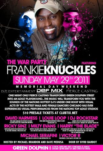 THE WAR PARTY FEATURING FRANKIE KNUCKLES