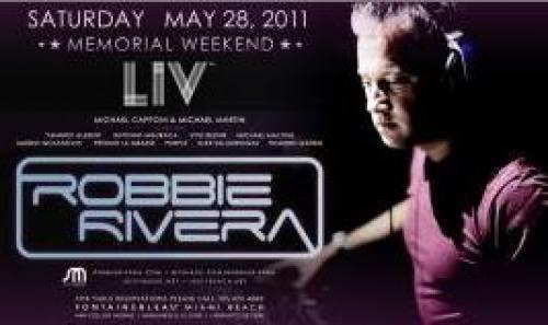 Robbie Rivera @ LIV