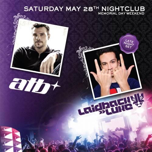 ATB & Laidback Luke @ Marquee Nightclub
