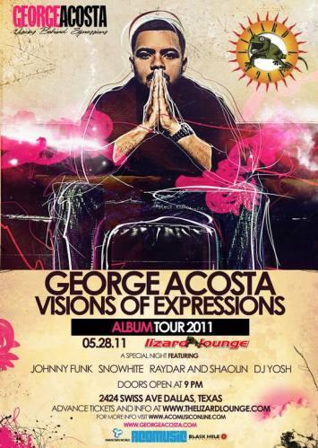 George Acosta @ Lizard Lounge (5/28)