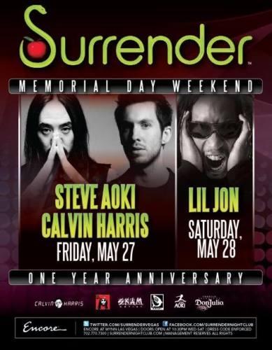 Memorial Day Weekend 2011 Ft. Steve Aoki & Calvin Harris