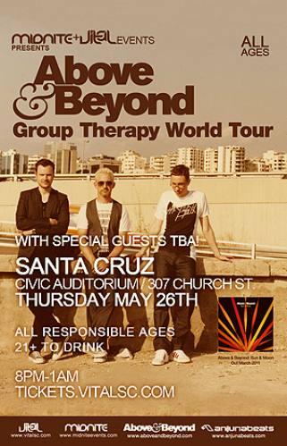 Above & Beyond @ Santa Cruz Civic Auditorium