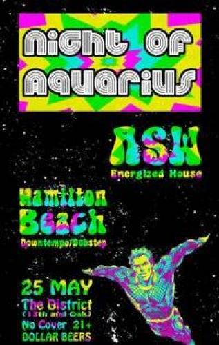 NIGHT OF AQUARIUS - THE SASQUATCH PRE-PARTY