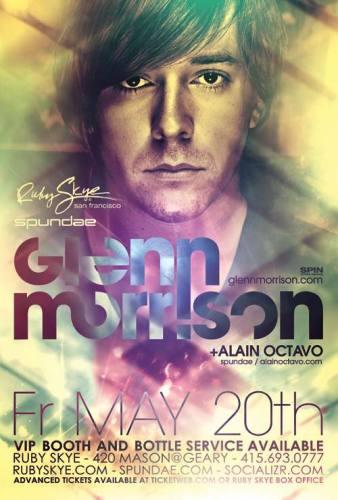 Glenn Morrison @ Ruby Skye