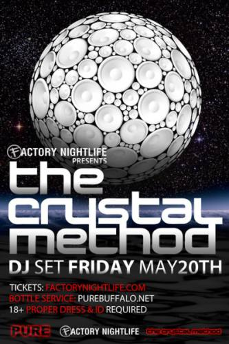 The Crystal Method @ Pure