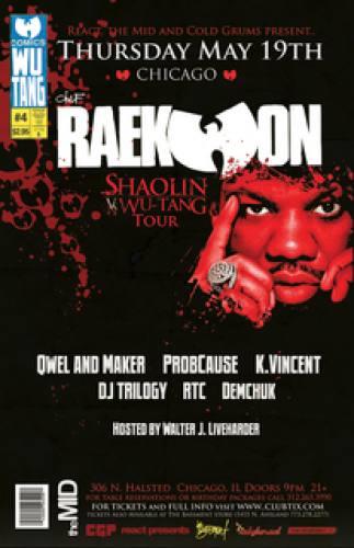 5.19 Raekwon of WuTang at The Mid Chicago