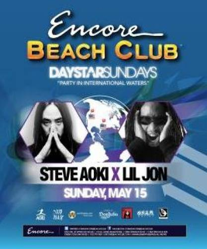 Steve Aoki @ Encore Beach Club