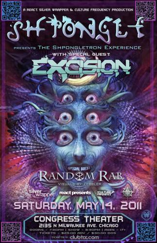 5.14 SHPONGLE - EXCISION AT CONGRESS THEATER