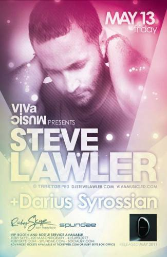 Steve Lawler @ Ruby Skye