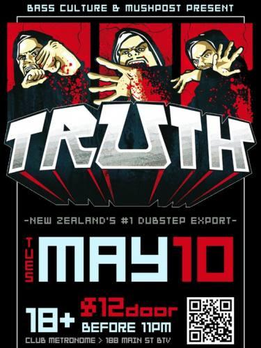 TRUTH [New Zealand Dubstep] @ Club Metronome