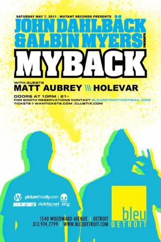 JOHN DAHLBACK & ALBIN MYERS @ Bleu
