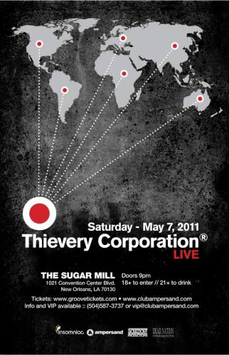 Thievery Corporation @ The Sugar Mill