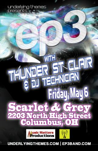 EP3 + Thunder St. Clair + DJ Technician