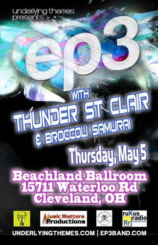 EP3 + Thunder St. Clair @ Beachland Ballroom