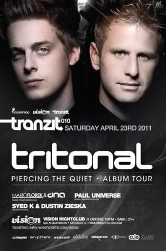 TRANZIT 010: feat TRITONAL