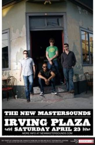 Live Nation & Mr Bugsly Present: The New Mastersounds 4.23.11