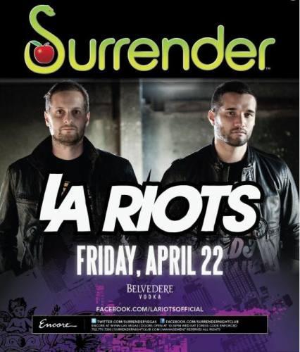 Surrender Presents Aoki's House Ft LA Riots