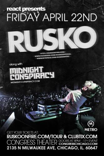 4.22 REACT PRESENTS: RUSKO AT THE CONGRESS THEATER