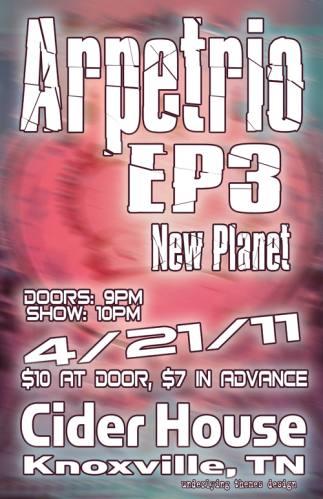 Arpetrio + EP3 + New Planet