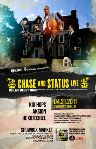 4/21 USC & Insomniac present: ***CHASE & STATUS LIVE***