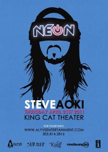 ***NEON*** w/ STEVE AOKI - Live in SEATTLE
