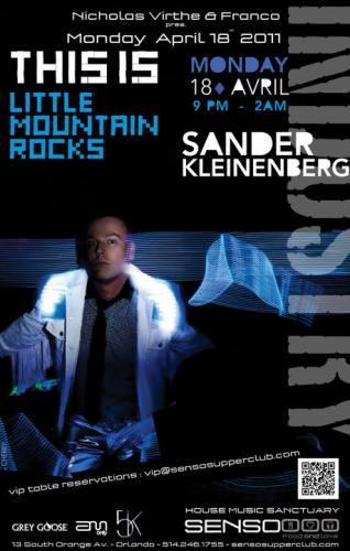 Sander Kleinenberg @ Senso