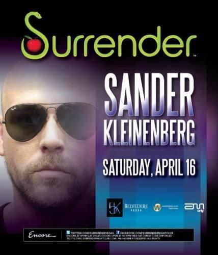 Surrender Presents Sander Kleinenberg