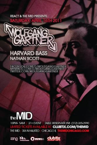 4.16 Wolfgang Gartner, Harvard Bass – Control Saturdays at The Mid Chicago