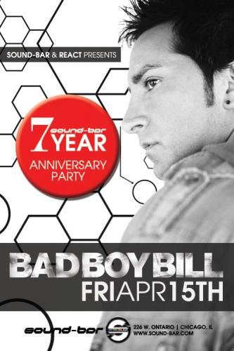 4.15 Bad Boy Bill and Nick Rockwell @Sound-Bar Chicago FREE w/ RSVP