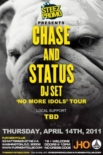 Chase & Status @ Fur
