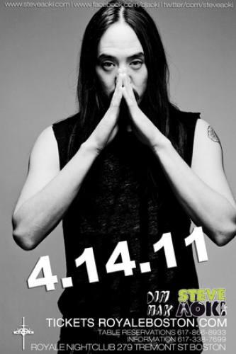 Steve Aoki @ Royale (4/14)