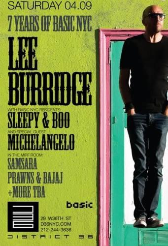 Lee Burridge @ District 36