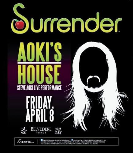 Surrender Presents Aoki's House Ft Steve Aok