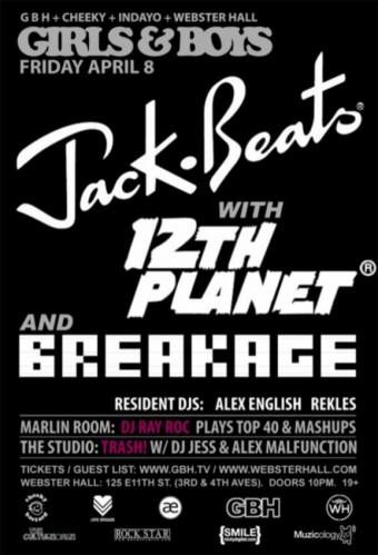 Jack Beats & 12th Planet @ Webster Hall