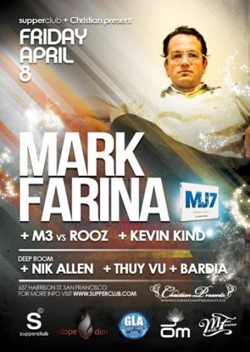 Mark Farina @ Supperclub (4/8)