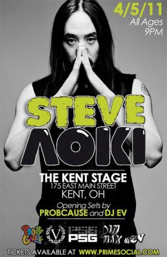Steve Aoki @ The Kent Stage